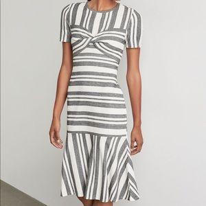 BCBGMAXAZRIA Striped Dress